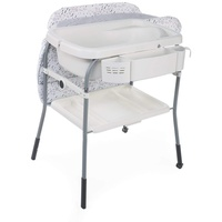 chicco Bade-Wickelkombination Cuddle and Bubble Comfort Cool grey