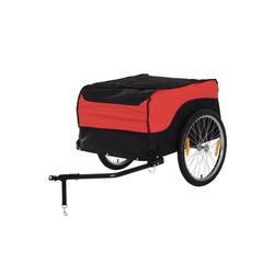 HOMCOM Fahrradlastenanhänger Transportanhänger fürs Fahrrad