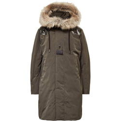 G-Star RAW Parka Parka Tech Damen Winter Parka mit Kunstfell an der Kapuze M (38)
