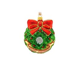 Hanco Design Christbaumschmuck Weihnachtskranz - Weihnachtskranz
