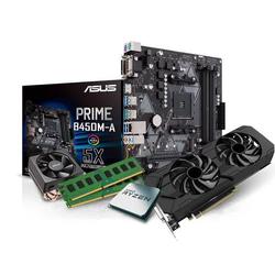 Kiebel Aufrüst Set Aufrüst-Set AMD Ryzen AMD Ryzen 5 3600, 16GB RAM, NVIDIA RTX 2060 Super