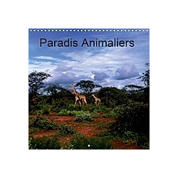 Paradis Animaliers (Calendrier mural 2021 300 × 300 mm Square)