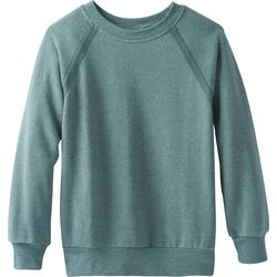 Prana Cozy Up Sweatshirt Women dusty aloe heather