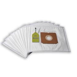 eVendix Staubsaugerbeutel Staubsaugerbeutel kompatibel mit MioStar VAC 3600, 10 Staubbeutel + 2 Mikro-Filter, kompatibel mit SWIRL A06, passend für MioStar