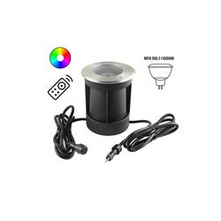 VBLED LED Einbaustrahler LED Bodeneinbaustrahler 12V AC, LED Bodeneinbaustrahler