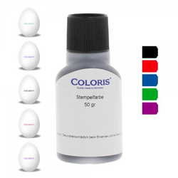 Coloris Stempelfarbe Eierstempelfarbe EU