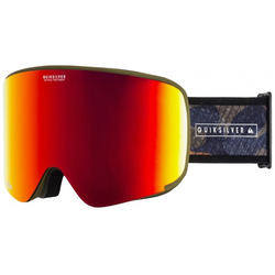 QUIKSILVER SWITCHBACK Schneebrille 2021 military olive gps point