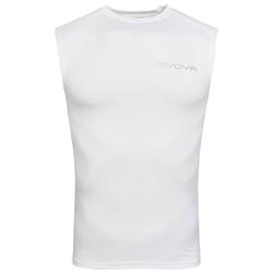 "Funkcjonalna koszulka Givova Tank Top ""Corpus 1"" biała - S"