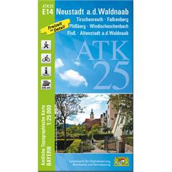 Neustadt a.d. Waldnaab 1 : 25 000