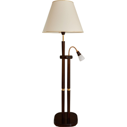 LED Stehlampe 8652/S braun Leselampen Lampen Leuchten