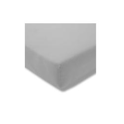 Estella Spannbettlaken Fein Jersey in platin, 100 x 200 cm