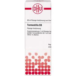 TORMENTILLA D 3 Dilution 20 ml