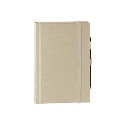 memo Skizzenbuch Leinen A6, (B 92 x H 134 mm) beige, 160 Seiten, Zeichenband,...