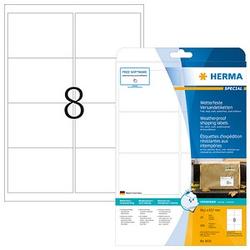 200 HERMA Folien-Versandetiketten 8331 weiß