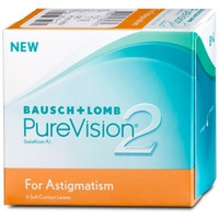 Bausch + Lomb PureVision2 HD for Astigmatism 6 St. / 8.90 BC / 14.50 DIA / 0.00 DPT / -0.75 CYL / 10° AX
