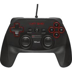 Trust GXT 540 Gamepad PC, PlayStation 3 Schwarz