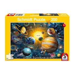 Schmidt Spiele Puzzle Unser Sonnensystem, 150 Puzzleteile