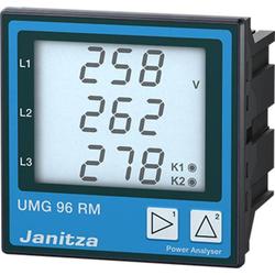 Janitza UMG96RM-E 6-Kanal Netzanalysator UMG96RM-E, Ethernet, mit RCM-Messung