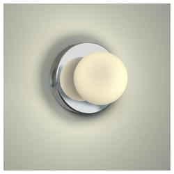 Licht-Trend Wandleuchte Azos Spiegel Ø 10cm IP44