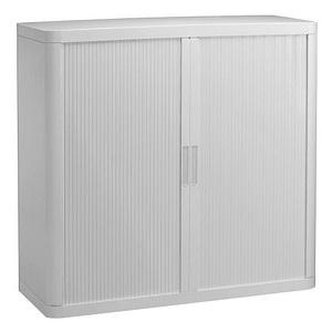 PAPERFLOW Rollladenschrank weiß/weiß keine Fachböden
