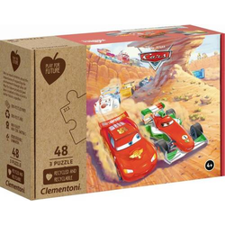 Clementoni Puzzle Play for Future - Cars 3 x 48 Teile 25254