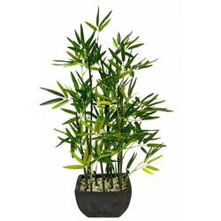 Kunstpflanze Bambus Bambus, Höhe 75 cm