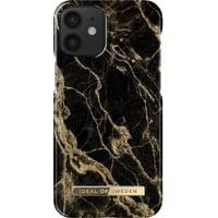 IDEAL OF SWEDEN Fashion Case, Backcover, Apple, iPhone 12 Mini, Golden Smoke Marble
