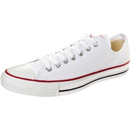 Converse All Star Ox white/ white-red, 38