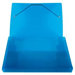 STYLEX® Heftbox, DIN A4, Abheftbox mit Gummizugverschluss, farbig sortiert