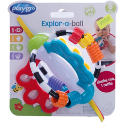 Playgro Rasselball Rasselball, Explor a ball