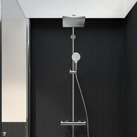 HANSGROHE Crometta E Showerpipe 240 1jet mit Thermostat (27271000)