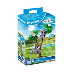 Playmobil® Spielfigur PLAYMOBIL® 70352 2 Koalas mit Baby