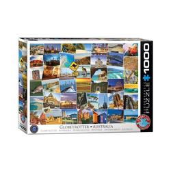EUROGRAPHICS Puzzle 6000-0753 Globetrotter Australien 1000 Teile, Puzzleteile