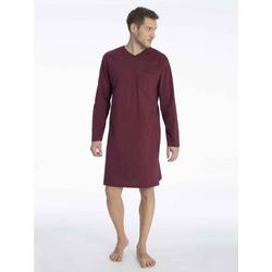 seidensticker Nachthemd Nachthemd, V-Ausschnitt rot 60 = 4XL