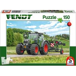 Fendt 211 Vario mit Fendt Wender Twister 150 Teile - Kinderpuzzle Fendt