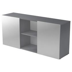 KAPA 1780 | Sideboard | mit Schwebetüren - Sideboard Graphit/Silber