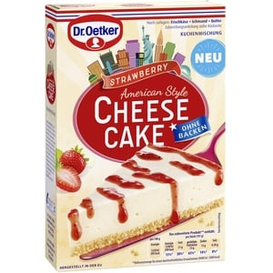 Dr. Oetker Cheesecake American Style Strawberry, 320 g