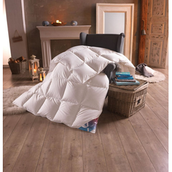 Gänsedaunenbettdecke, Luksus Hygge, hyggehome, warm, Füllung: 100% Gänsedaunen, (1-tlg) 135 cm x 200 cm
