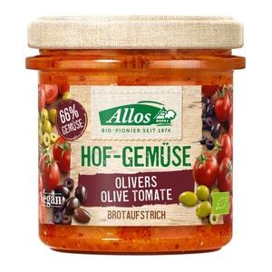 Allos Hofgemüse Olivers Olive Tomate bio
