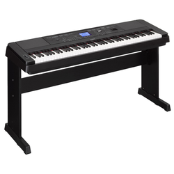 Yamaha DGX-660B Portable Piano schwarz