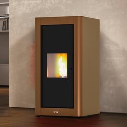 Blaze Pelletofen Pop, 1,3 kW, Dauerbrand, Stahl