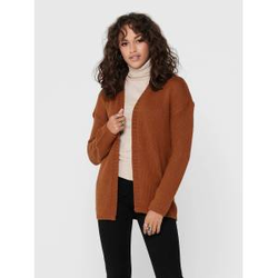 ONLY Rippdesign Strickjacke Damen Rot Female XL