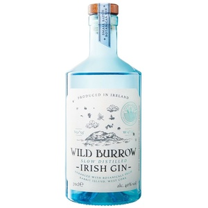 Wild Burrow Slow Distilled Irish Gin 40% Vol