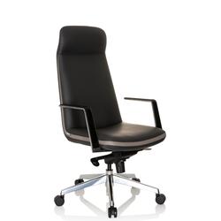 ATMOS - Luxus Chefsessel Grau / Beige