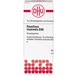 PASSIFLORA INCARNATA D 30 Globuli 10 g