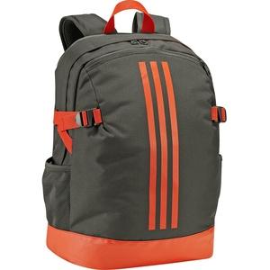 adidas 3-Stripes Backpack Power IV M Rucksack (Farbe: night cargo/active orange/active orange)