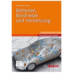 Batterien  Bordnetze und Vernetzung - Buch