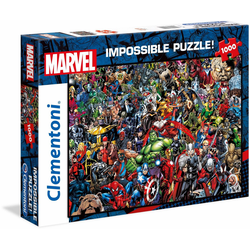 Clementoni® Puzzle Impossible Collection -Marvel, 1000 Puzzleteile, Made in Europe