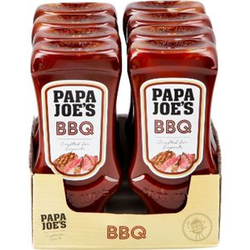 Papa Joes Barbecue Sauce 300 ml, 8er Pack