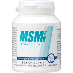 MSM 500 mg+Glucosamine Kapseln 90 St.